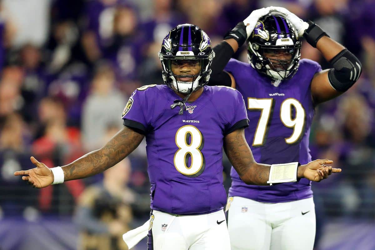 Odds On When The Baltimore Ravens Lose Their First Game?