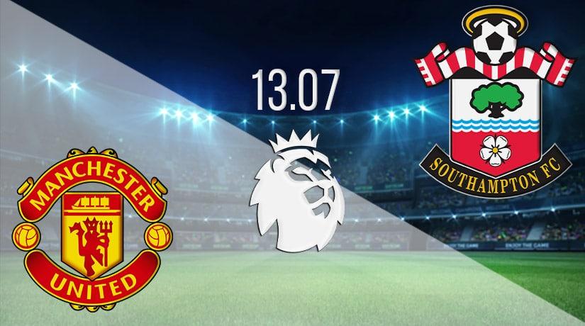 Manchester United vs Southampton - 07/13/20 - Premier ...