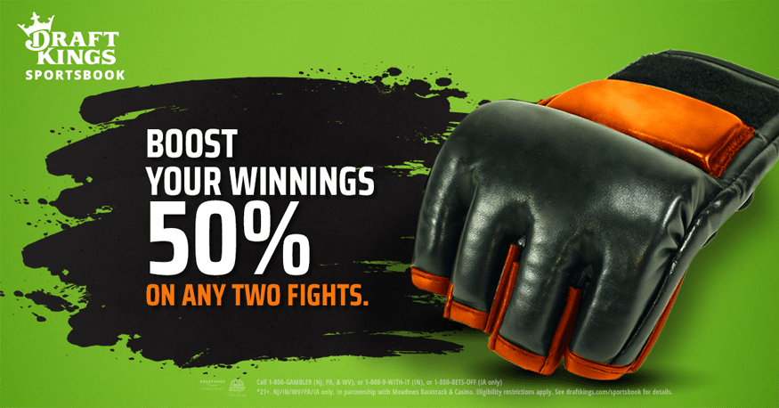 Two Profit Boosts Available at DraftKings Sportsbook for UFC 251