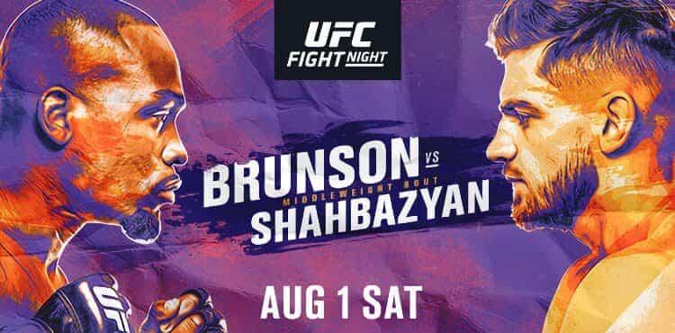 UFC Returns to the APEX for UFC on ESPN+ 31: Brunson vs. Shahbazyan