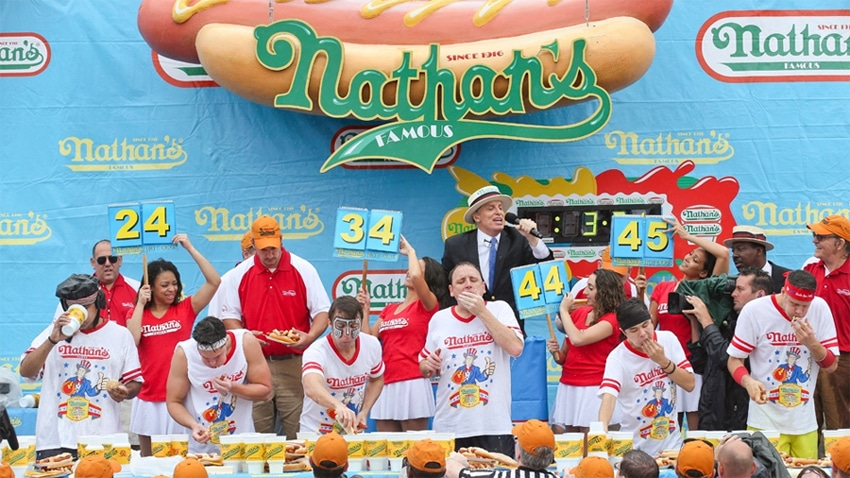 New Jersey, Colorado Approve Betting on the Nathan's Hot Dog Eating Contest