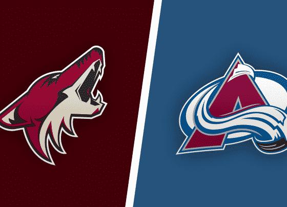 Colorado Avalanche vs. Arizona Coyotes