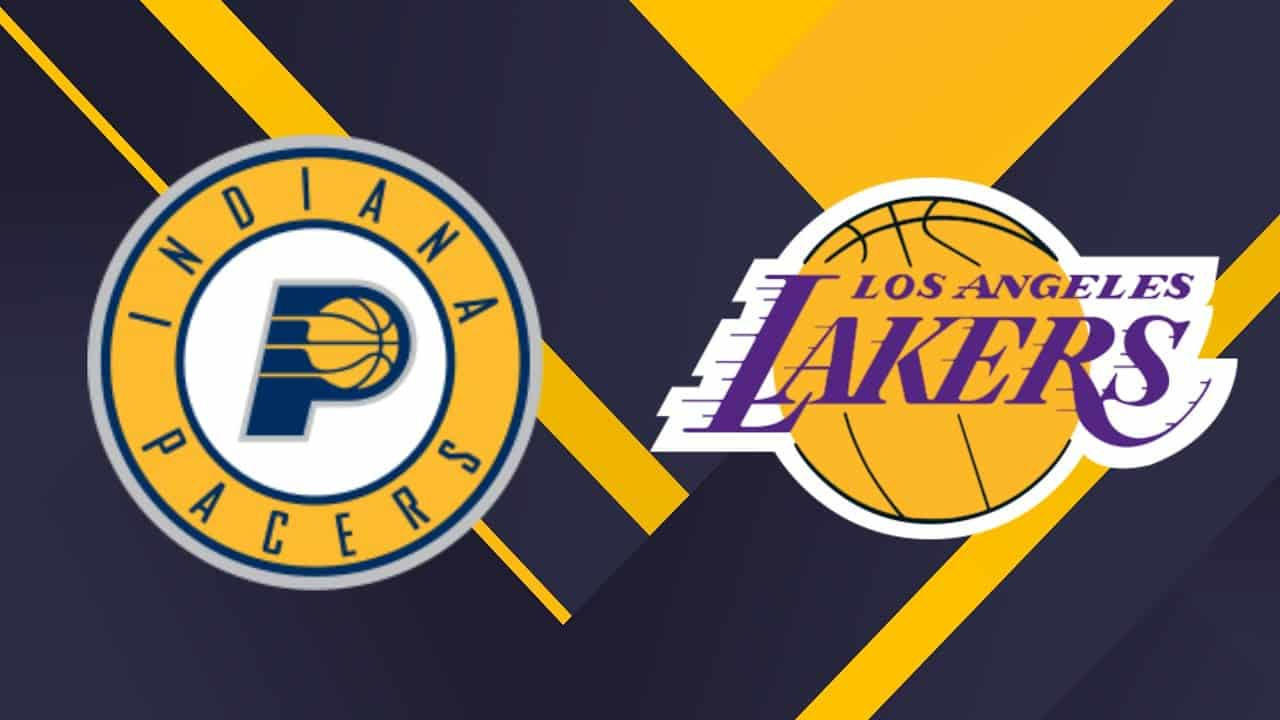 Los Angeles Lakers vs. Indiana Pacers