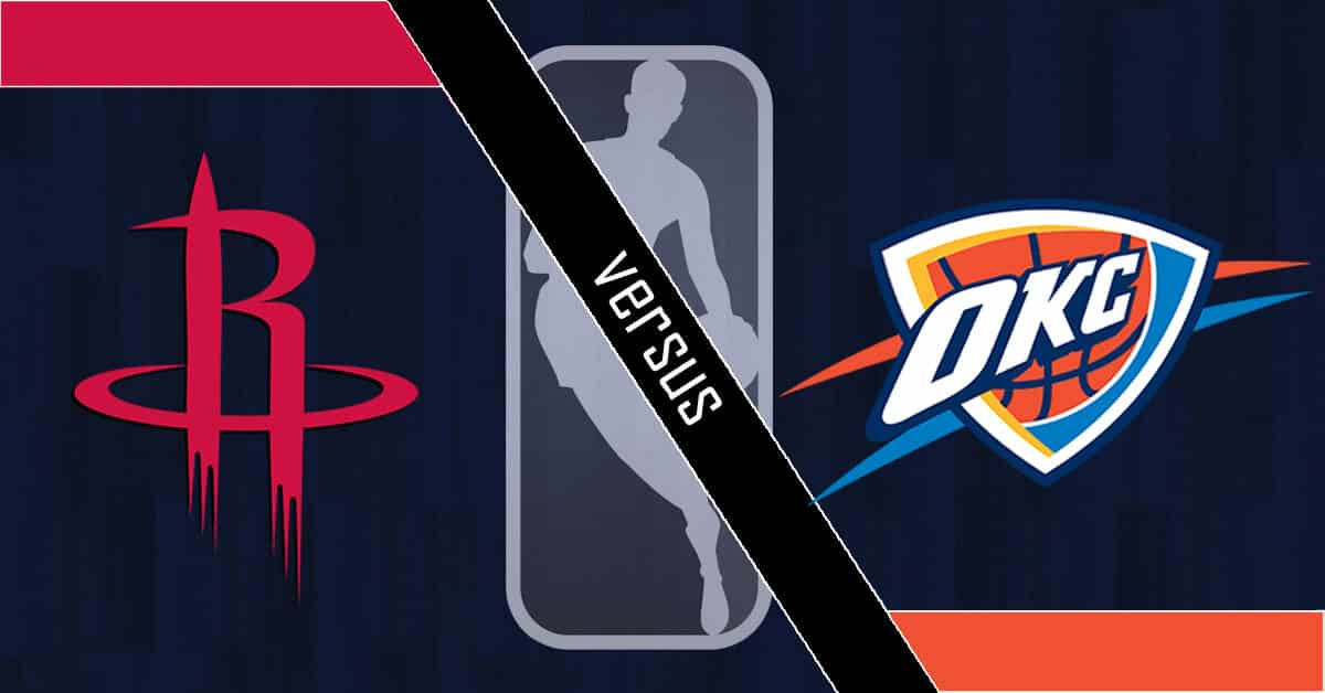 Odds for Oklahoma City Thunder vs Houston Rockets Series