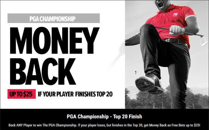 PGA Championship & Tiger Woods PointsBet Sportsbook Promo Offers