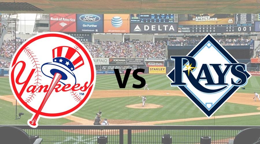 Tampa Bay Rays at New York Yankees – 08/18/20 – MLB Odds, Preview & Prediction