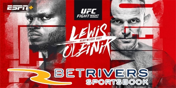 Receive UFC & PGA Championship Free Bets – BetRivers Sportsbook Promo Offers