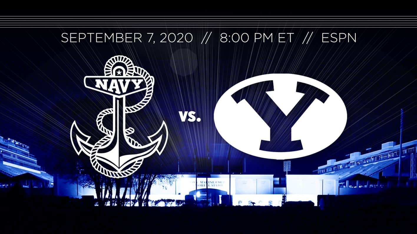 BYU at Navy – Picks, Odds & Prediction – 09/07/20