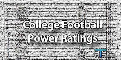 Las Vegas College Football Power Ratings & Rankings Week 9