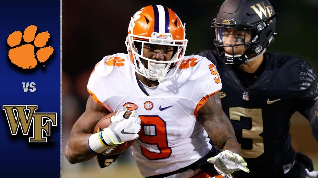 Clemson at Wake Forest – Odds, Pick & Prediction – 09/12/20