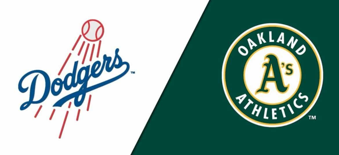 Oakland Athletics at Los Angeles Dodgers