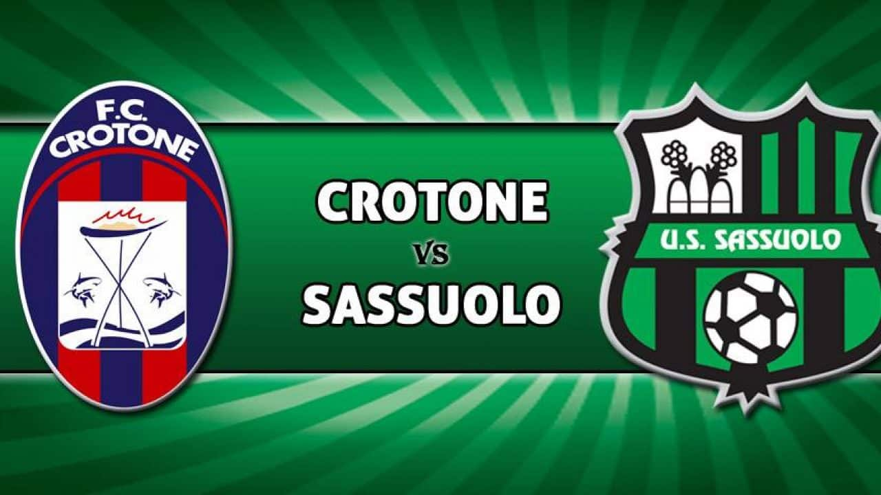 Sassuolo vs. Crotone – Odds, Pick & Prediction – 10/3/20