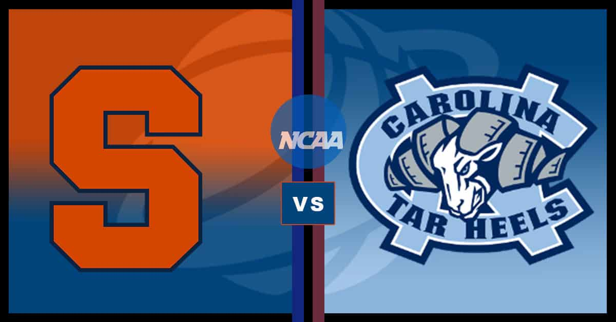 Syracuse at North Carolina – Odds, Pick & Prediction – 09/12/20