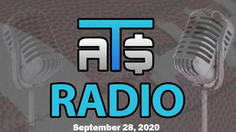 ATS.io Radio Sports Betting Podcast September 28, 2020