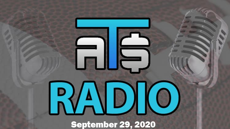 ATS.io Radio Sports Betting Podcast September 29, 2020