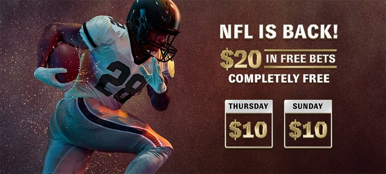 BetMGM Free Bets Promo For NFL Week 1