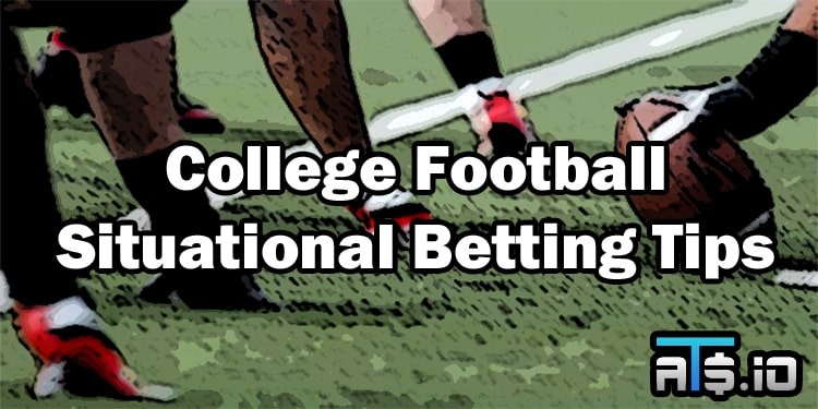 College Football Situational Betting Tips Week 3