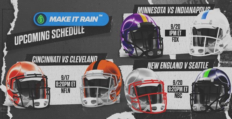Make It Rain Free Bets – PointsBet Sportsbook Promo Offer