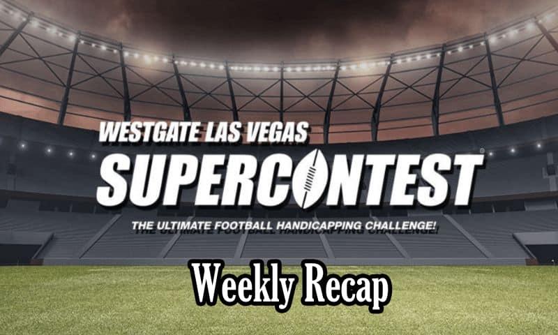 Las Vegas NFL SuperContest Weekly Recap: Week 1