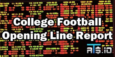 College Football Opening Line Report Week 9