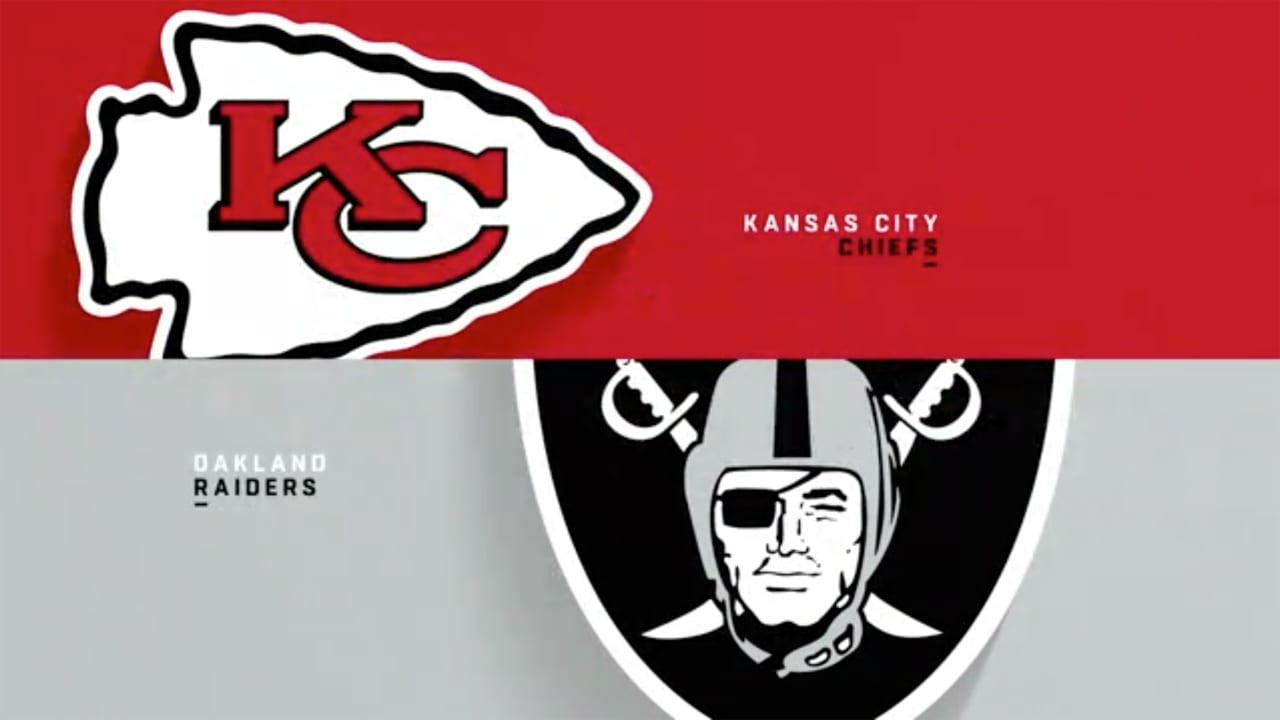Las Vegas Raiders at Kansas City Chiefs