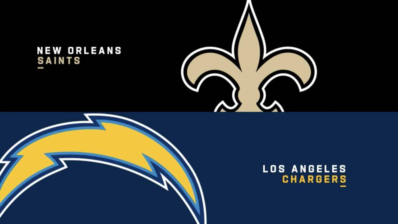Los Angeles Chargers at New Orleans Saints – MNF Odds, Pick & Prediction