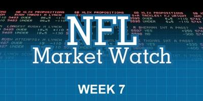 NFL Betting Odds, Analysis, Sharp Money & Line Movement Report Week 7