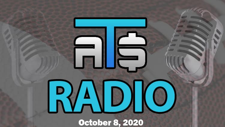 ATS.io Radio Sports Betting Podcast October 8, 2020