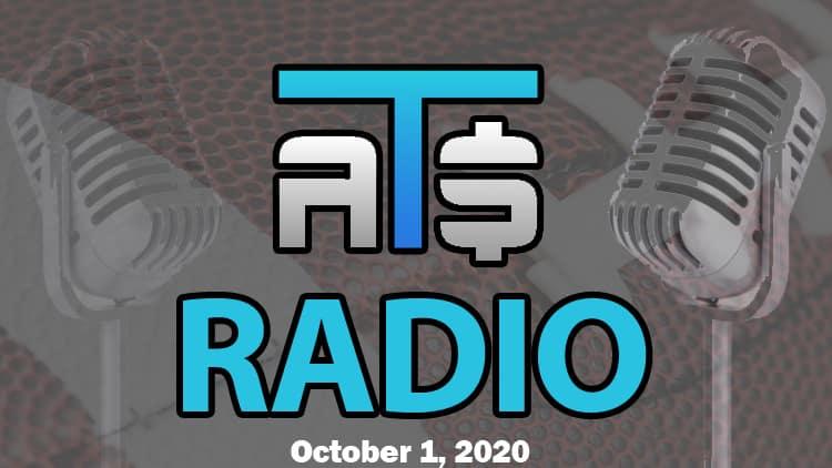 ATS.io Radio Sports Betting Podcast October 1, 2020