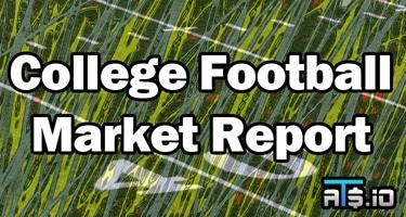 College Football Sharp Money Betting Odds Market Report Week 8