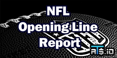NFL Opening Line Report Week 8