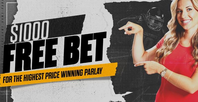 Win $1,000 in Free Bets in the PointsBet Sportsbook Parlay Competition!