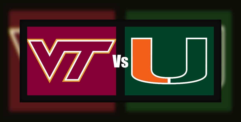Miami At Virginia Tech Odds Pick Prediction 11 14 20