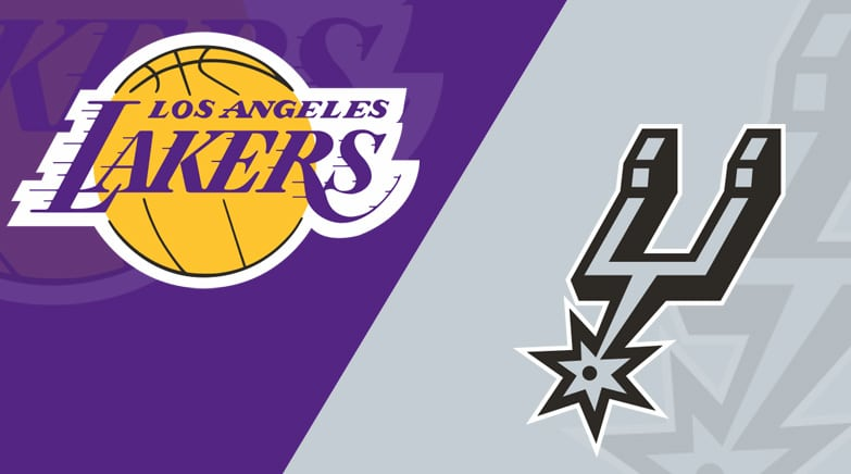 Los Angeles Lakers vs. San Antonio Spurs