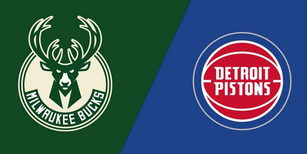 Milwaukee Bucks vs. Detroit Pistons