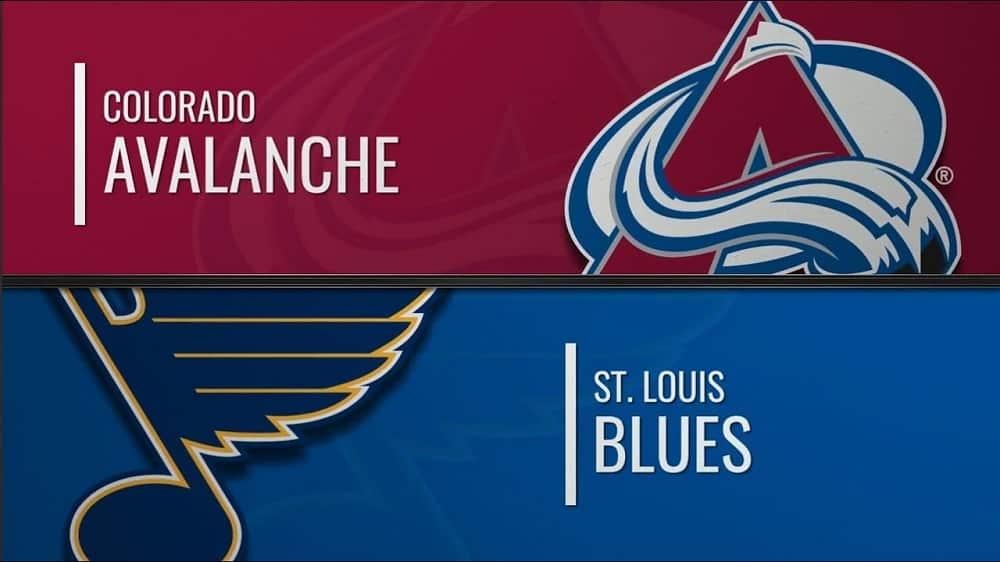 St. Louis Blues vs. Colorado Avalanche