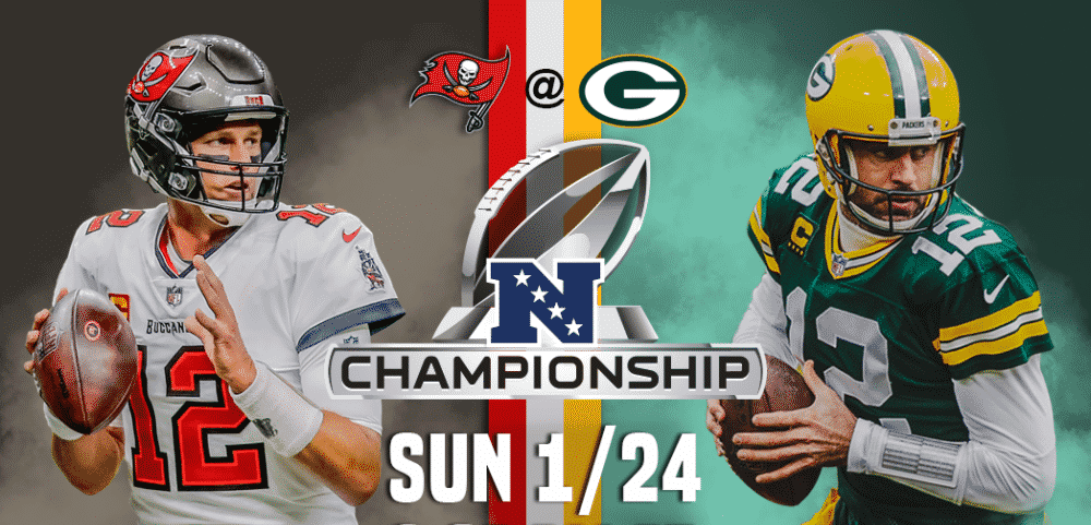 Tampa Bay Buccaneers at Green Bay Packers – NFC Championship Game