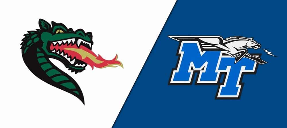 UAB vs. Middle Tennessee