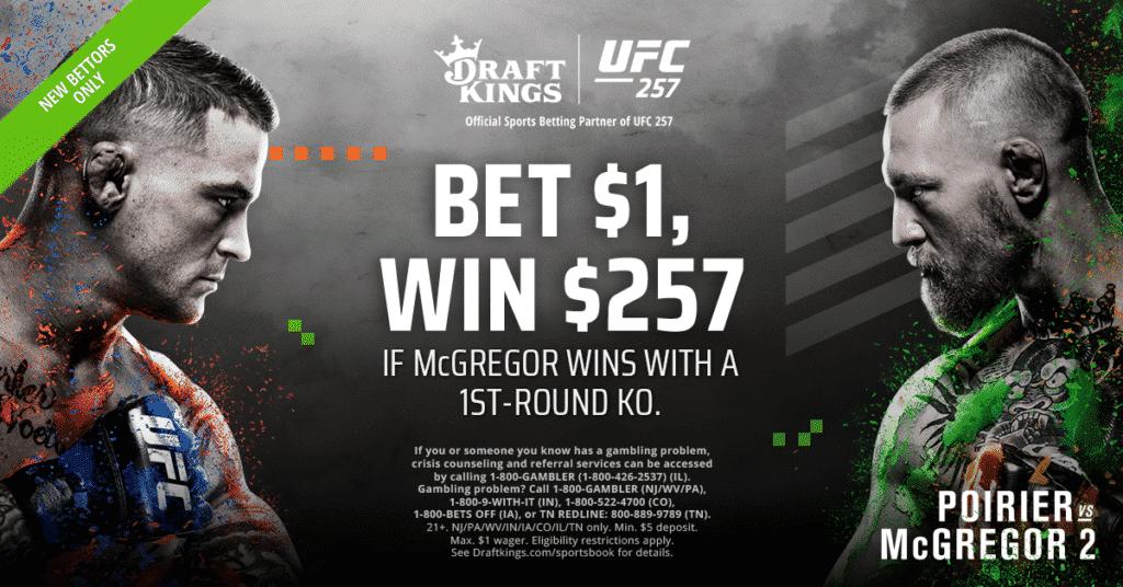 UFC 257 Draft Kings Promo