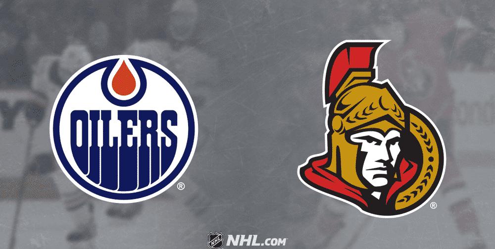 Edmonton Oilers vs. Ottawa Senators