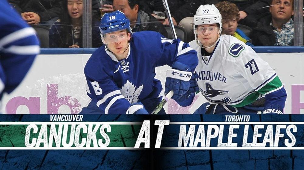 Vancouver Canucks vs. Toronto Maple Leafs