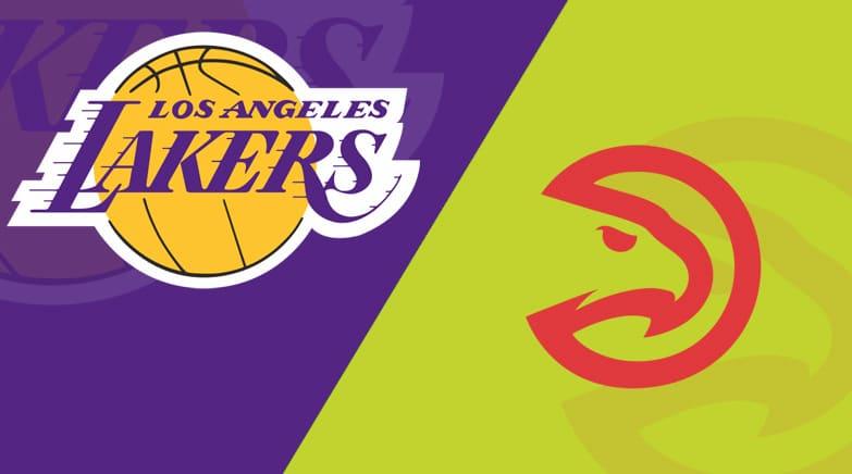 Atlanta Hawks vs. Los Angeles Lakers