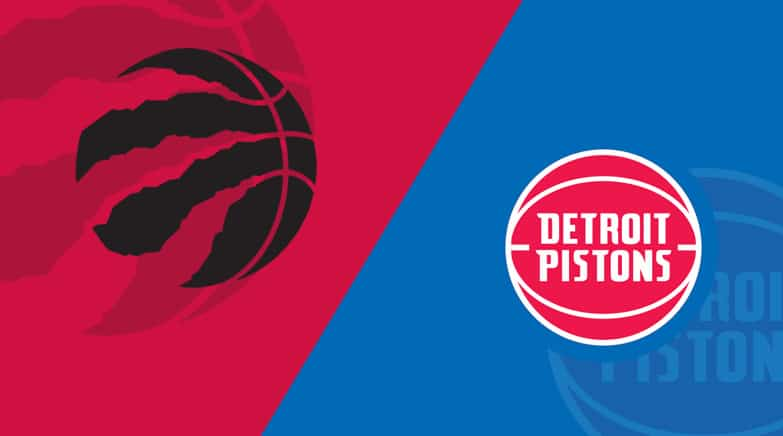 Detroit Pistons vs. Toronto Raptors