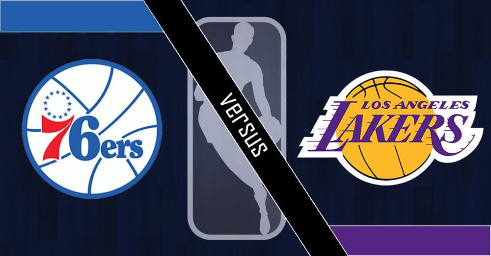 Philadelphia 76ers vs. Los Angeles Lakers
