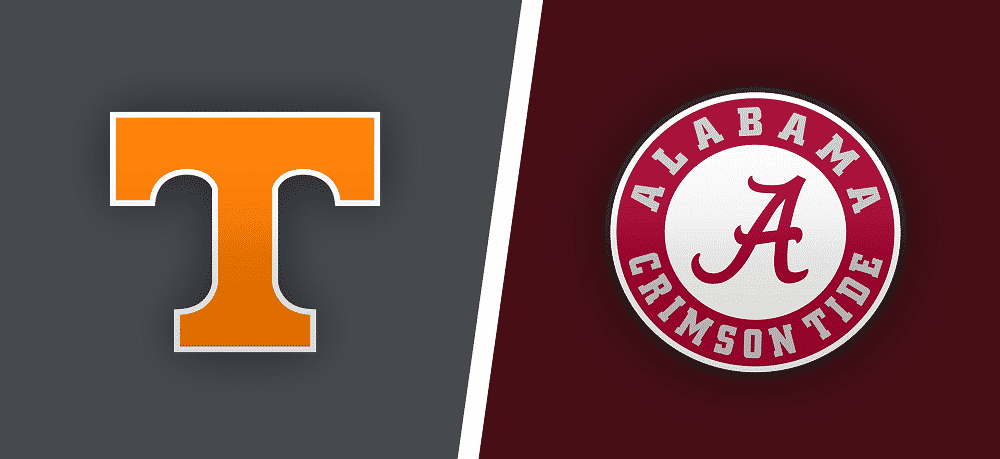Tennessee vs. Alabama