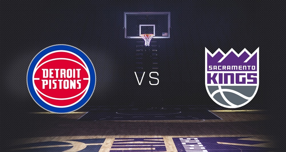 Detroit Pistons vs. Sacramento Kings