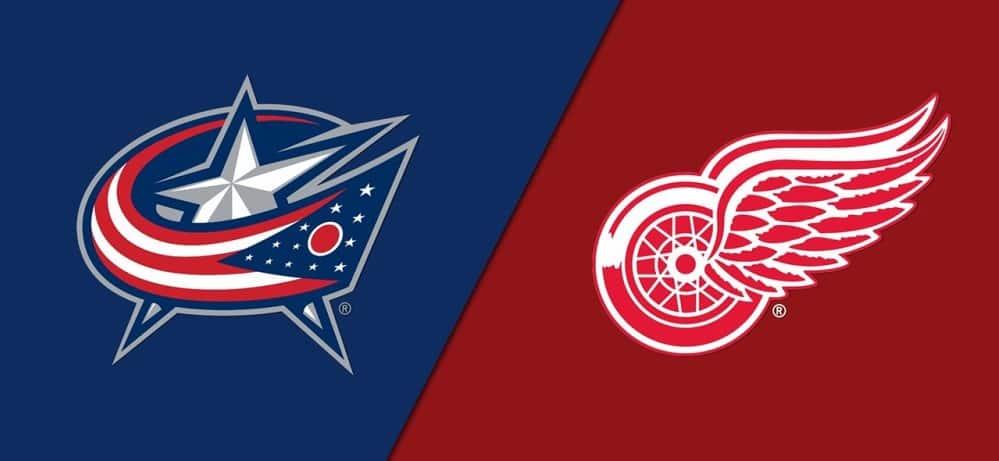 Detroit Red Wings vs. Columbus Blue Jackets