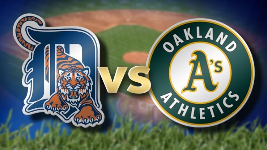 Detroit Tigers vs. Oakland Athletics