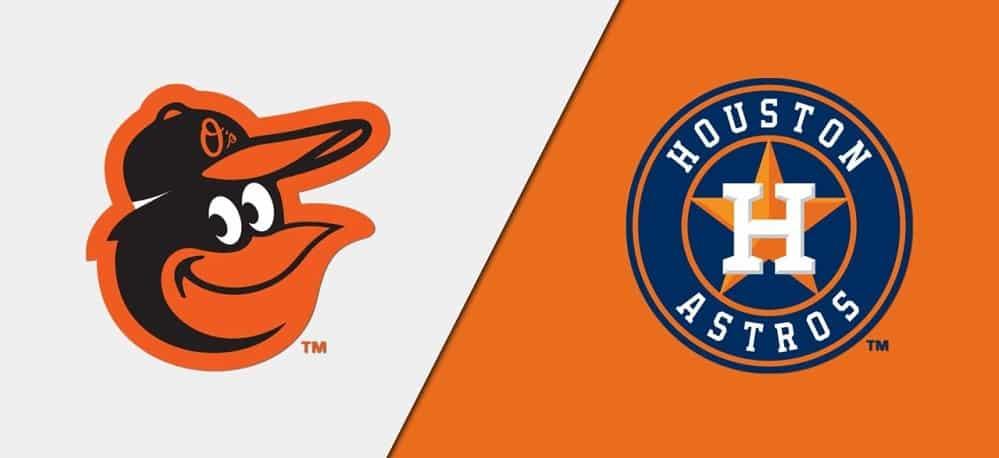 Baltimore Orioles vs. Houston Astros