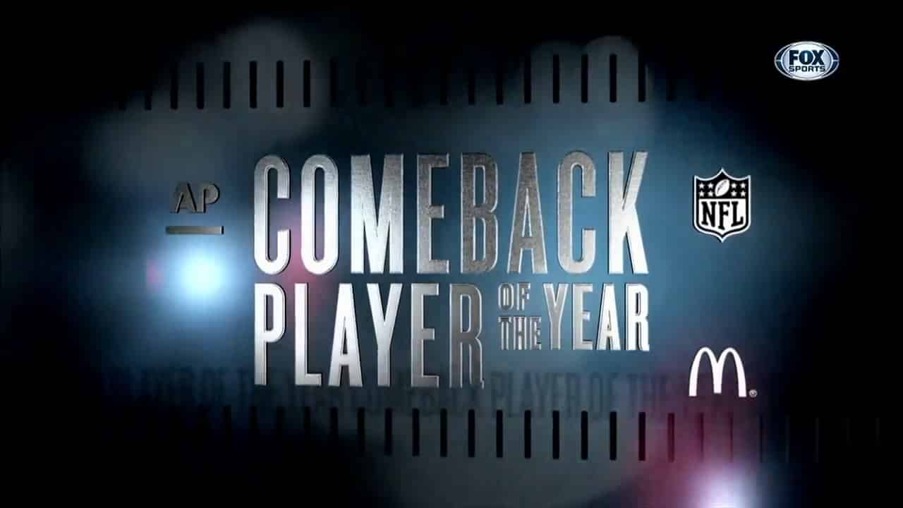 NFL Comeback Player Of The Year